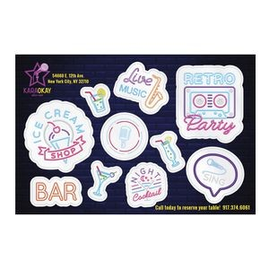 Custom Frosty Clear Vinyl Tech Tattoos� (10 to 28 Sq. Inch)
